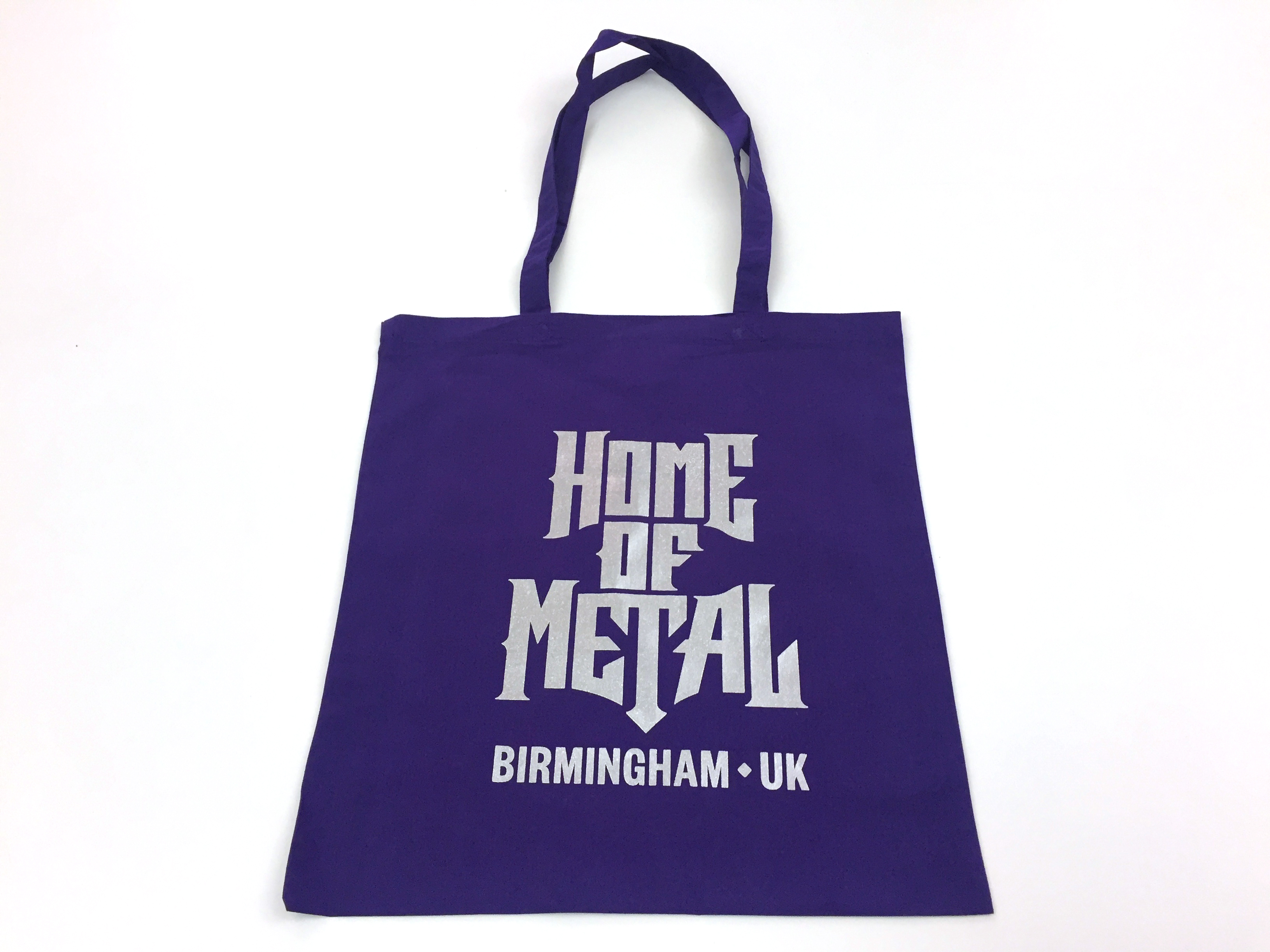 Home of Metal tote bag - purple