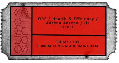 Ore album release ticket