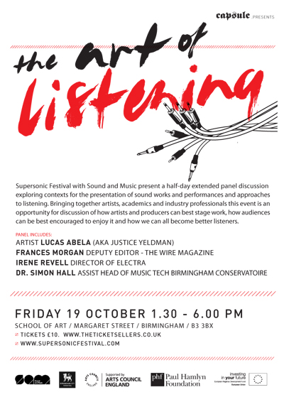 Art of Listening flyer