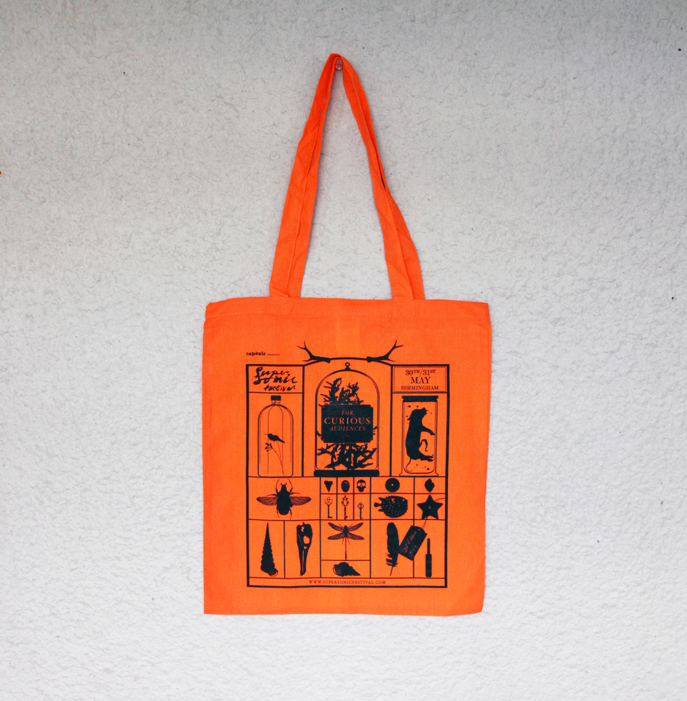 Supersonic 2014 tote bag
