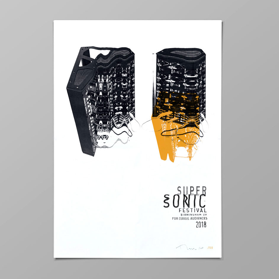 Supersonic Festival 2018 Print