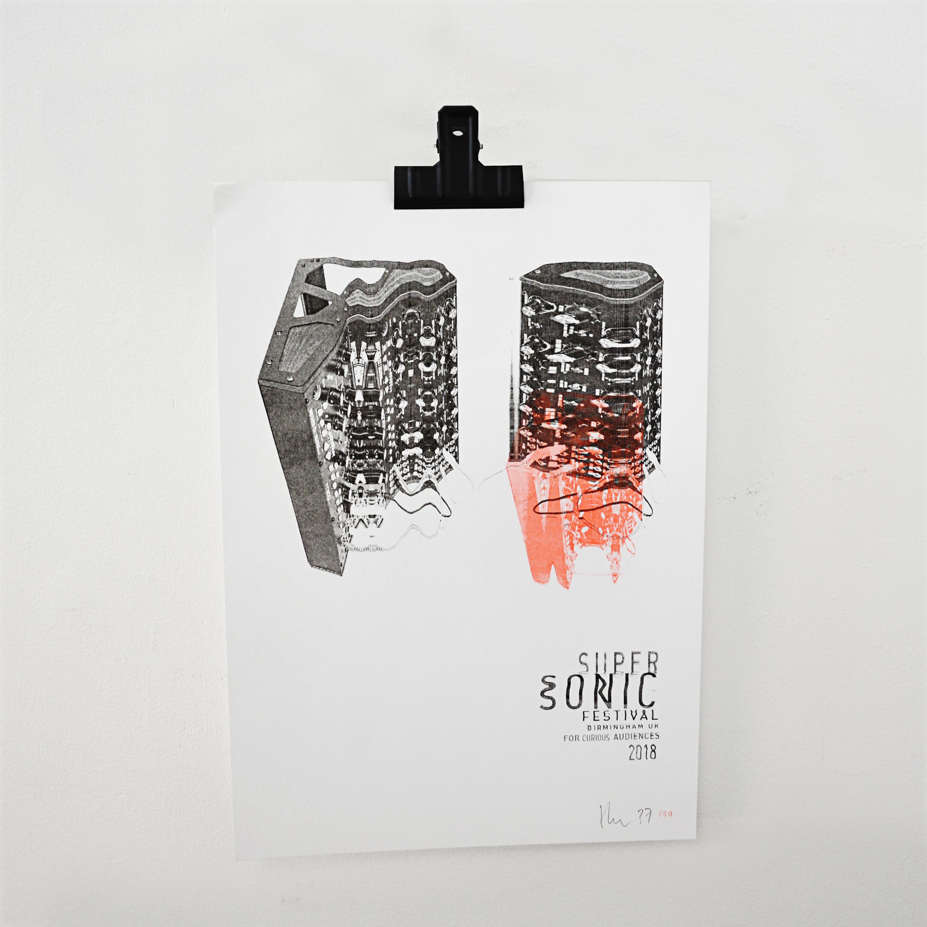 2018 Supersonic Festival Print