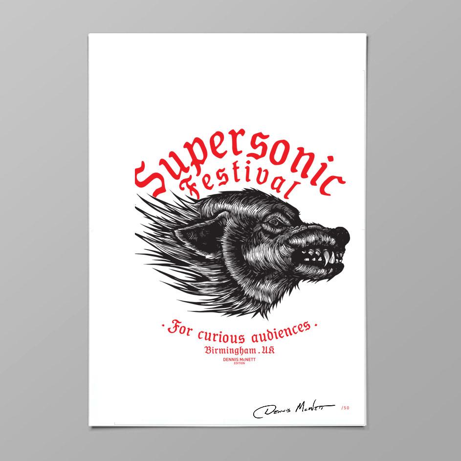 Dennis Mcnett Supersonic Print