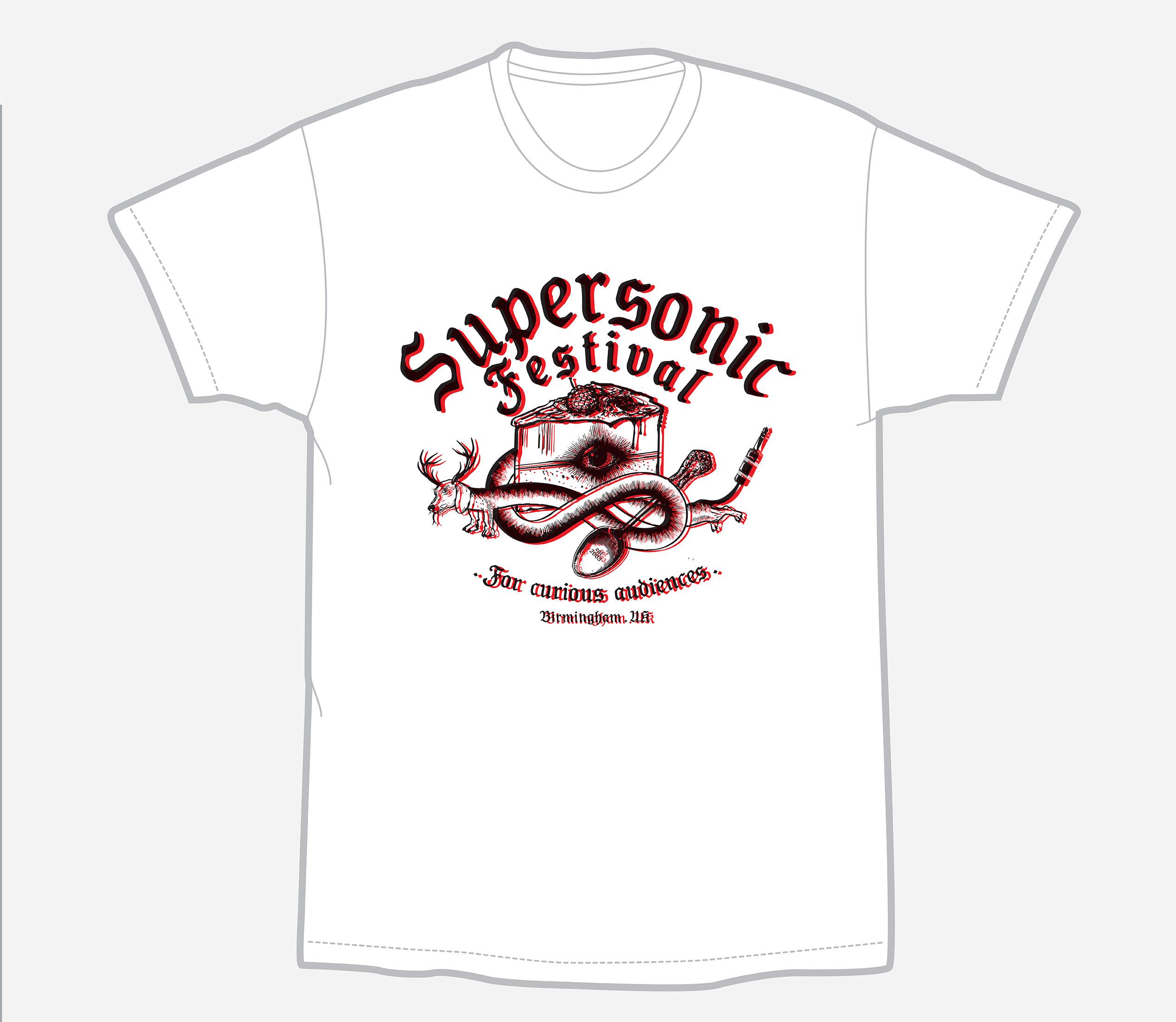Supersonic Festival logo T