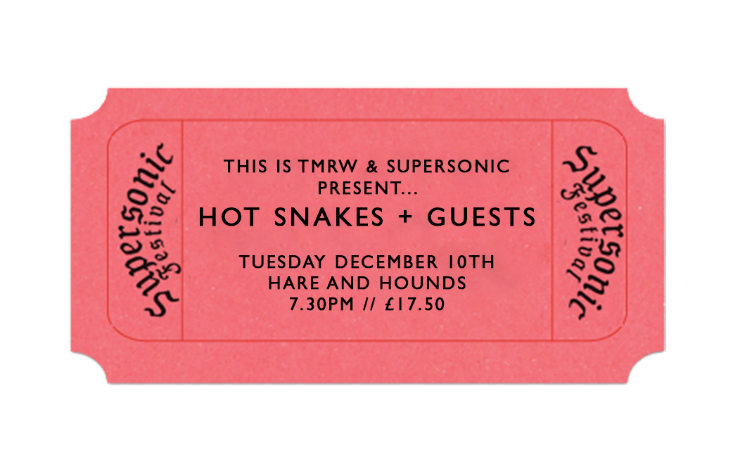 Hot Snakes + Rattle