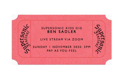 Kids Gig: Ben Sadler (Live Stream)